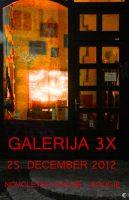 Galerija 3X postaja virtualna
